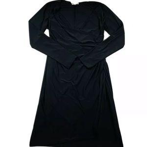 Lela Rose HSN Faux Wrap Dress